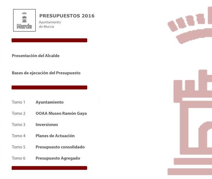 Proyecto Presupuestos 2016