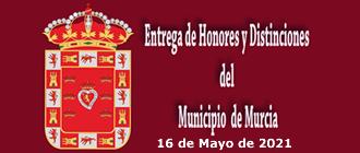 Entrega de Honores y Distinciones del 16 de Mayo 2021