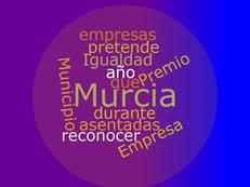 Cartel Premio empresa Murcia en Igualdad 2018