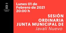 Retransmisión de Pleno de Junta Municipal en Directo 1